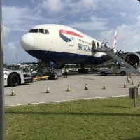 BA253 in Grand Cayman