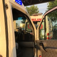 Ambulances in convoy to clear security checks