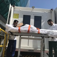 Stretcher repatriation from Dubai International.
